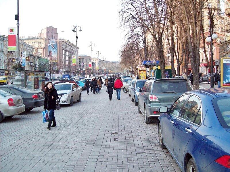 Пешеходная дорожка Крещатика