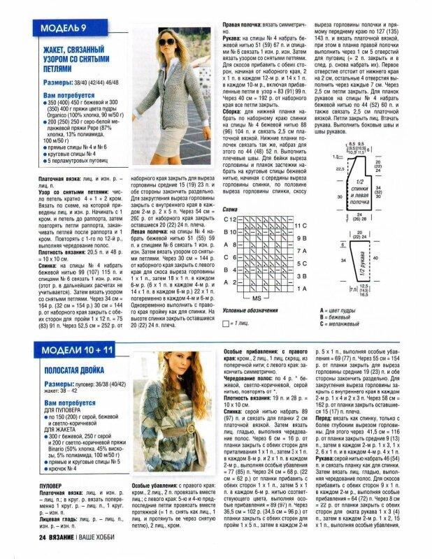Кардиган тунисским вязанием схемы и описание 33