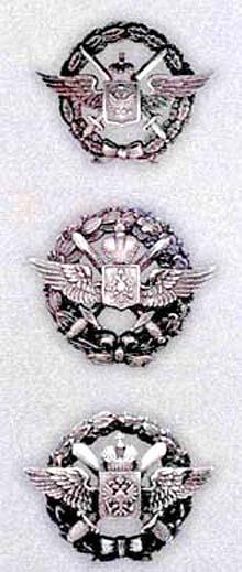 Знаки военных летчиков обр. 1913 г. При общем рисунке знаки заметно различаются в деталях..jpg
