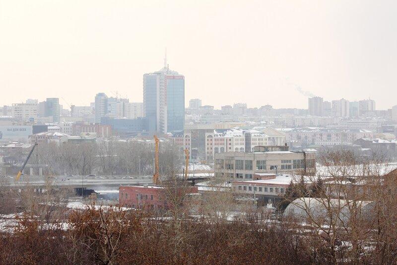 Челябинск. март 2012. Отдельные виды с Российской 55