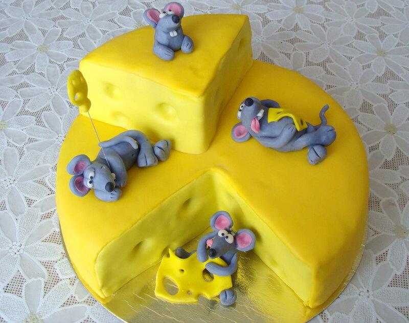 Торт сыр с мышами мастер класс фото