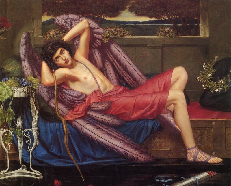 Love in Idleness. Sidney Harold Meteyard. 1868-1947.