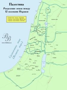 12 колен Израиля