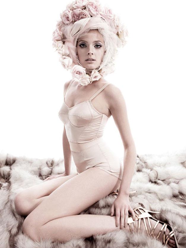 модель Констанс Яблонски / Constance Jablonski, фотограф Greg Kadel