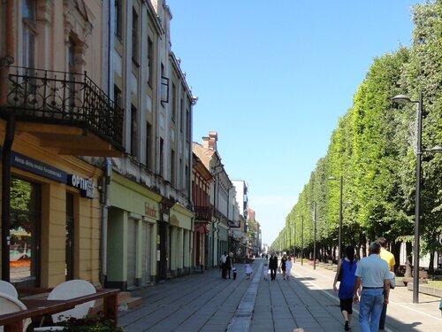 Каунас городские улицы