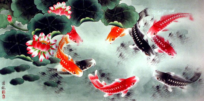 Chen Sky (Chen Mantian) - Откуда снизошла до нас, ты рыбка золотая