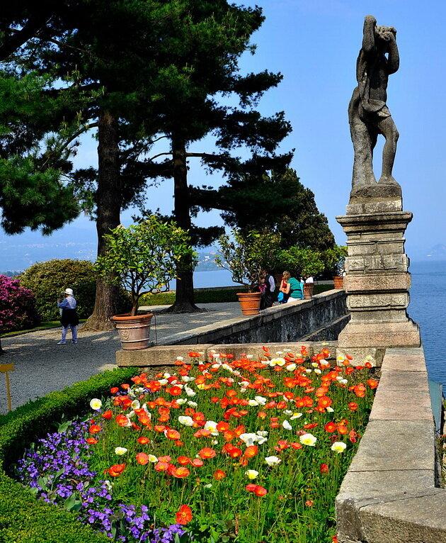Остров-парк Isola Bella. Италия