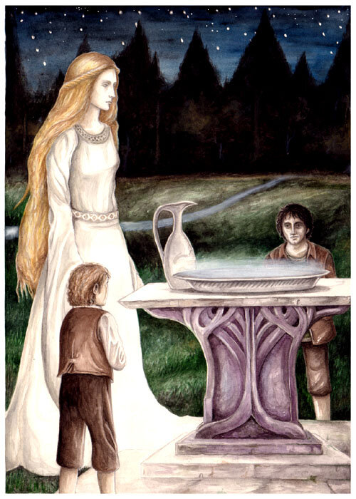 The Mirror of Galadriel -  peet