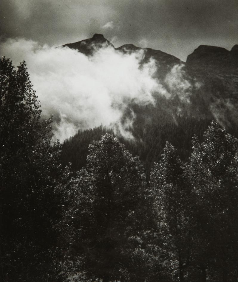 1935. Горный пейзаж