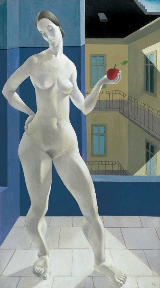 Ева, 1935, Тибор Дурай_Duray Tibor_ (1912-1988) Будапешт, Венгрия