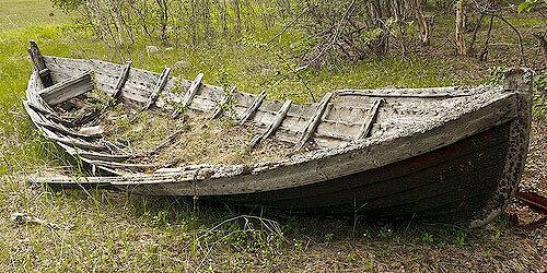 Моя гнилая лодка