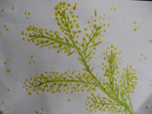 Рисунки акварелью, цветы. Ирина Храмихина