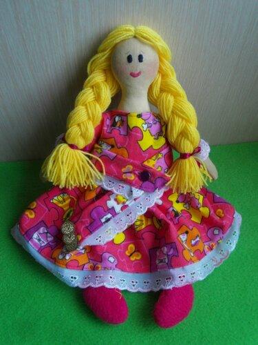 Игровые тряпичные куклы
