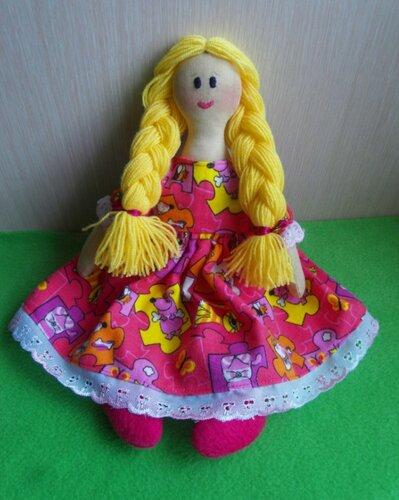 Игровые куклы своими руками