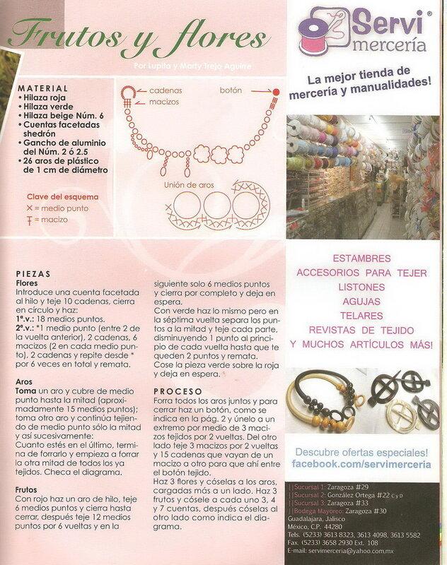 Nuestras tecnicas de ganchillo - №33 - 2011