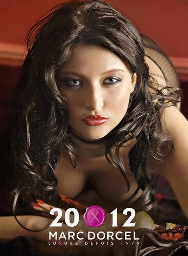 Календарь французской порностудии Marc Dorcel на 2012 год - обложка