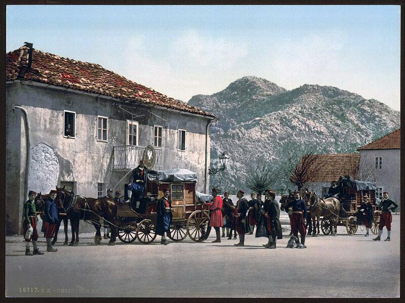 Черногория конца 19 века на фотохроме