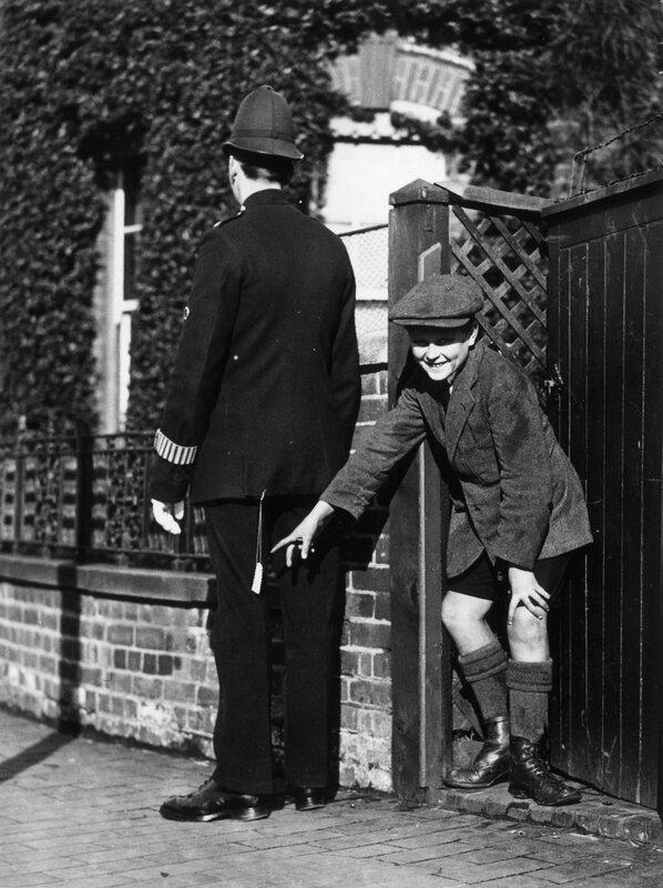 Exploding Policeman