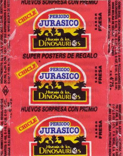 вкладыши - Periodo Jurasico