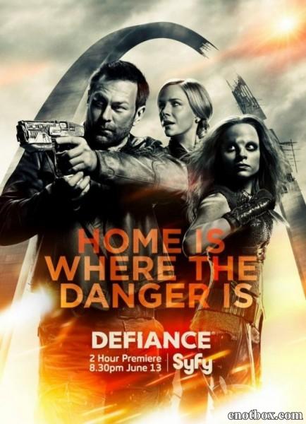 Вызов (Непокорная Земля) / Defiance - Полный 3 сезон [2015, WEB-DLRip | WEB-DL 1080p] (LostFilm)