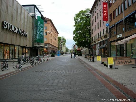 Пешеходная улица Турку