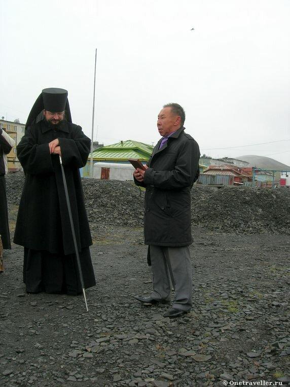Арктика. Тикси-1. Глава местной администрации.