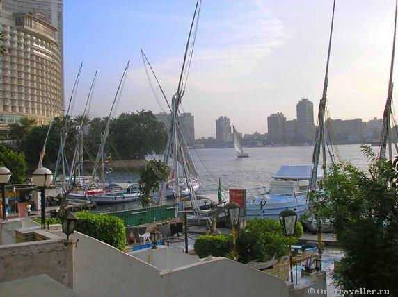 Египет. Каир. Набережная реки Нил.