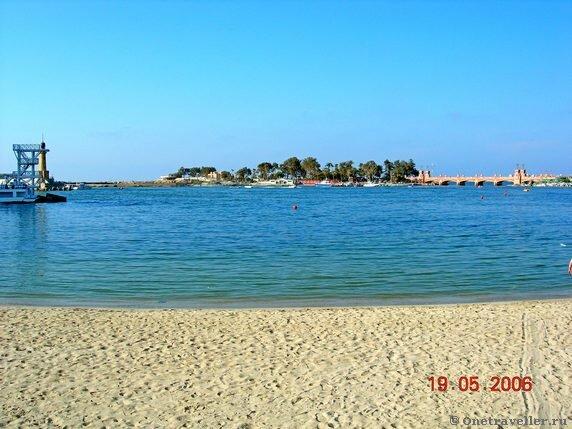 Египет. Александрия. Средиземное море.
