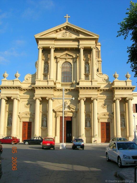 Египет. Александрия. Католический костел во имя святой Екатерины.