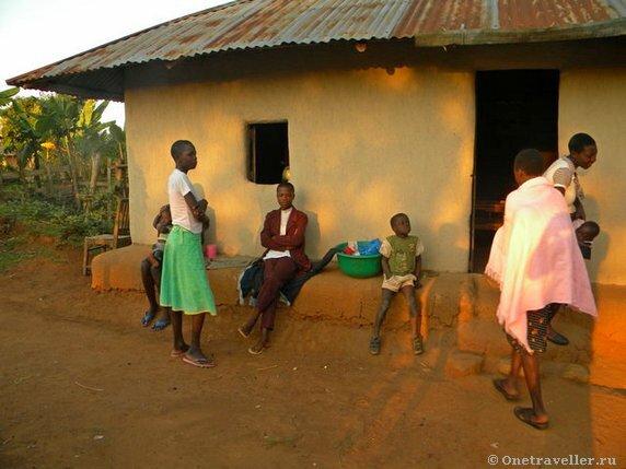 Кения. Местная деревня.