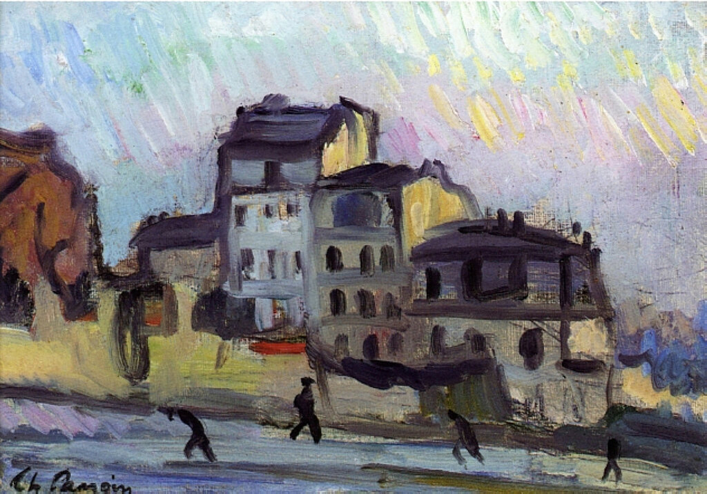 Charles Camoin - Old Street in Montmartre, 1904.jpeg