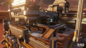 Halo 5 - The Rig [Буровая вышка] - скриншоты