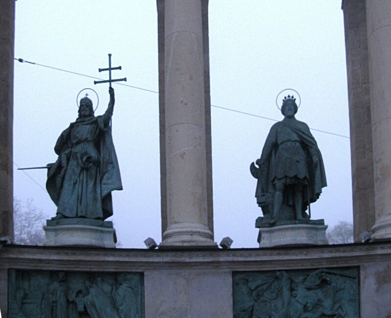 Heroes' Square (Hősök tere), Budapest