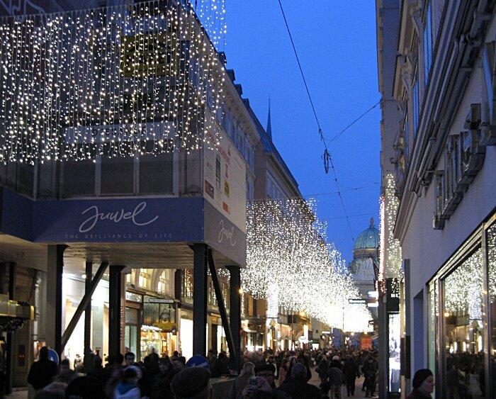 Vienna. Christmas illumination