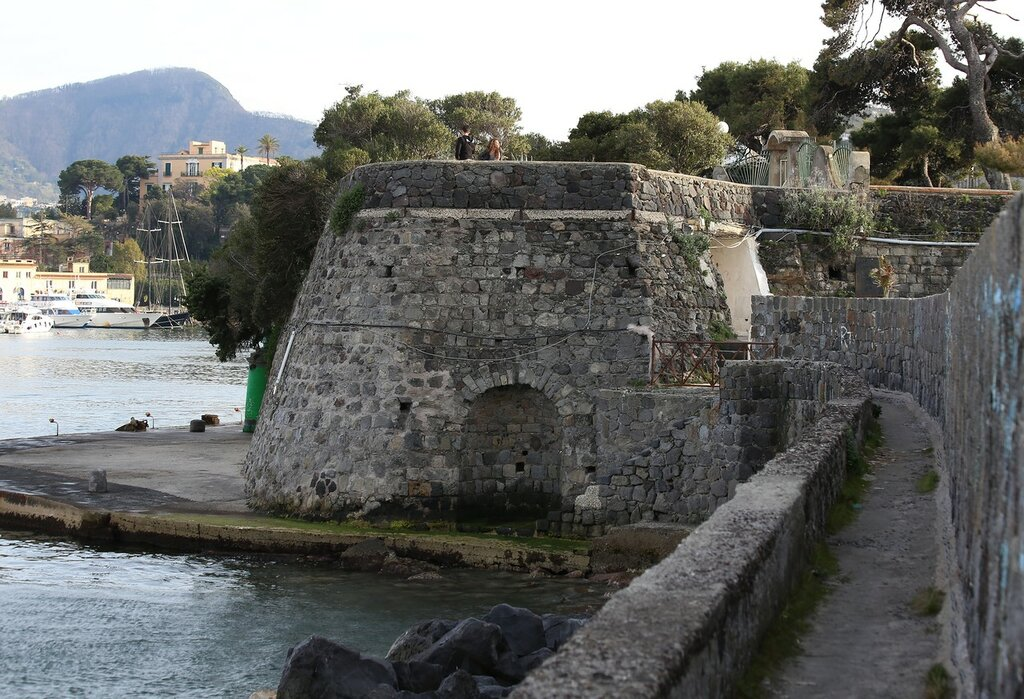 The Port Of Ischia. They say