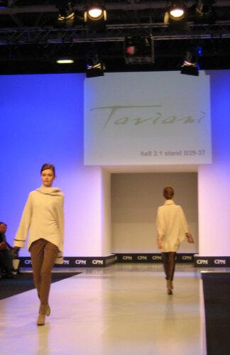 TAVIANI на выставке моды CPM 2012