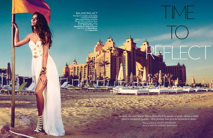 Ашика Пратт и Магдалена Глонек в майском Vogue India 2014