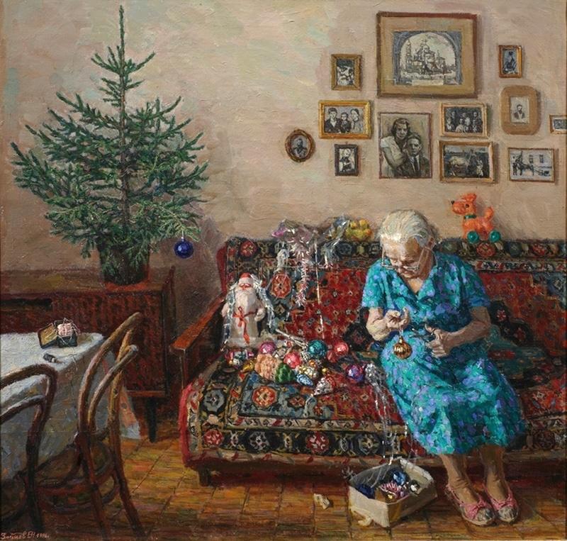 Егор Зайцев, «Рождественская елка», 1996