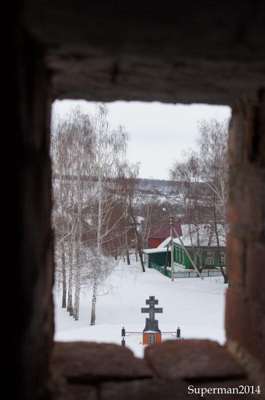 г.Венёв - вид с колокольни Николаевской церкви