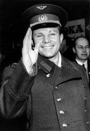 Gagarin in Sweden