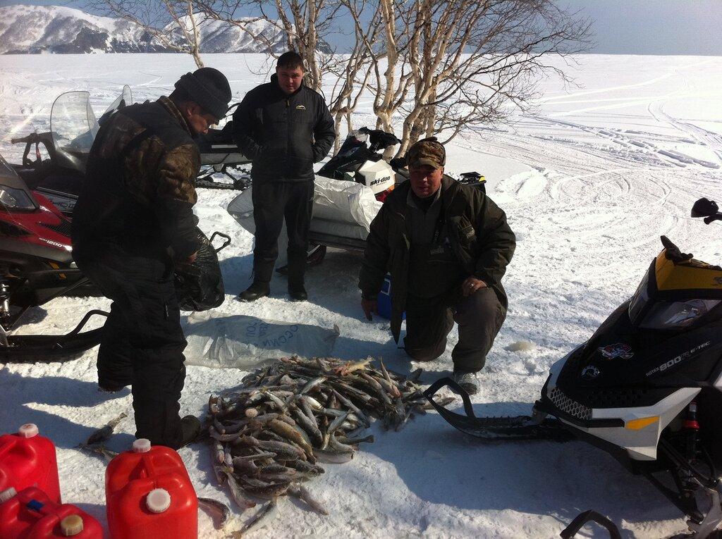 рыбаки на камчатке