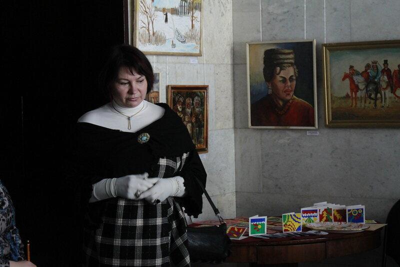 Ольга Казакова - 'Вера Павловна 21 века', музей Н.Г.Чернышевского, Саратов, 10 марта 2012 года