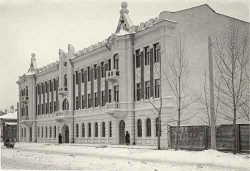 Здание почтамта.