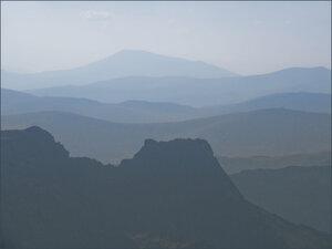 Вид с вершины Зуба Дракона