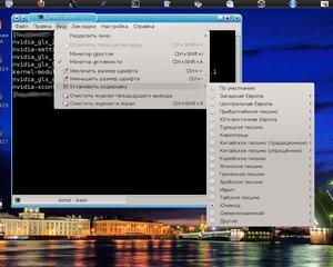 консоль linux
