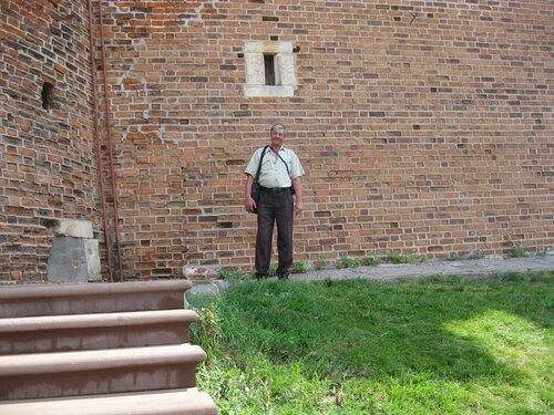 Нижегородский Кремль. Холм Поэтов у Северной башни. 30 июля 2011 г.