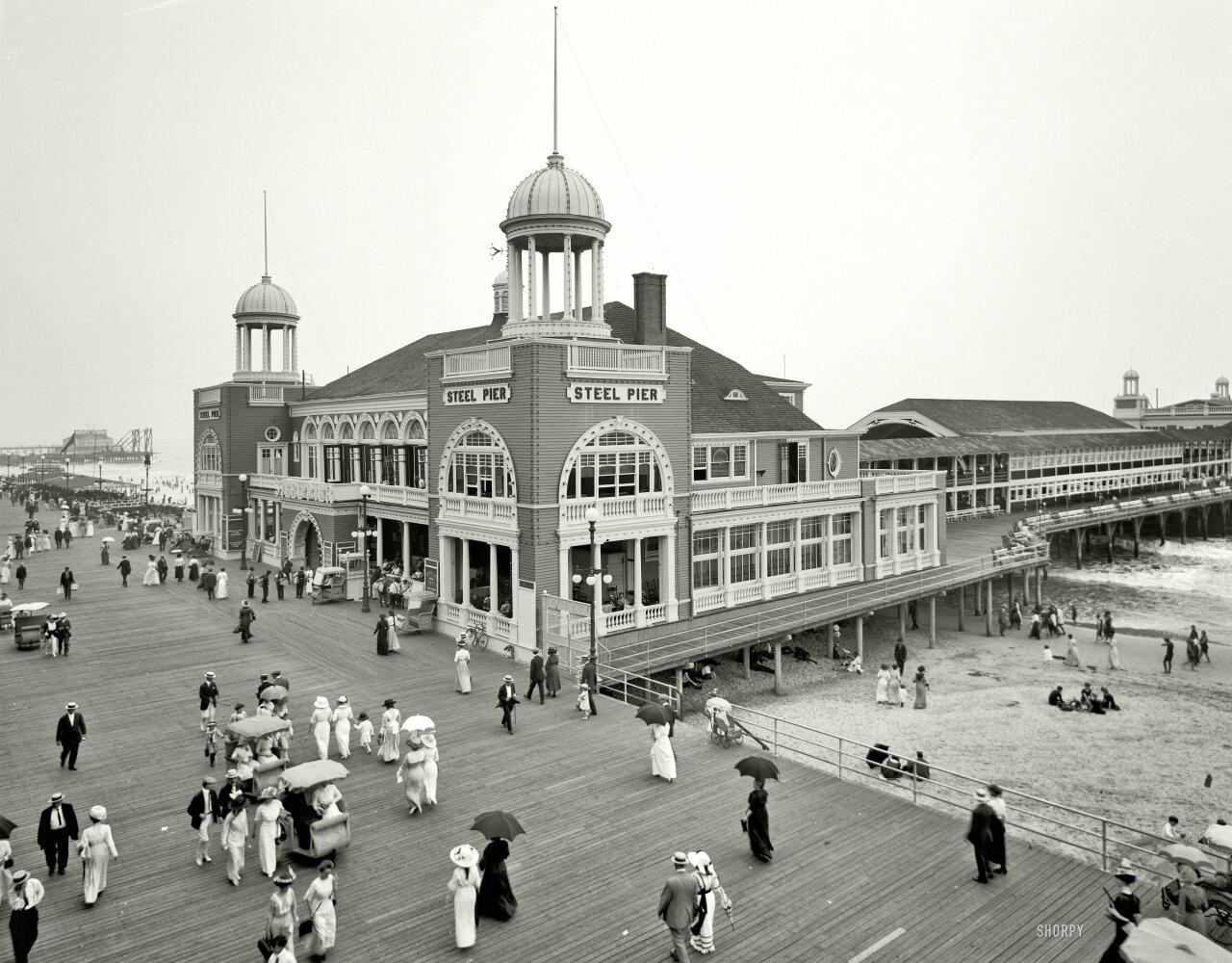 Мегаполисы США в начале 20 века