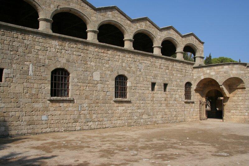 Монастырская постройка