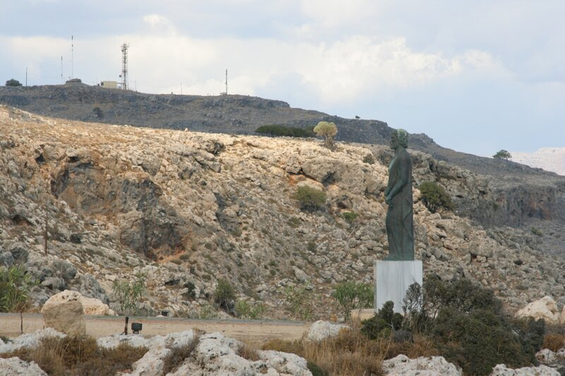 Памятник Клеобулу в Линдосе