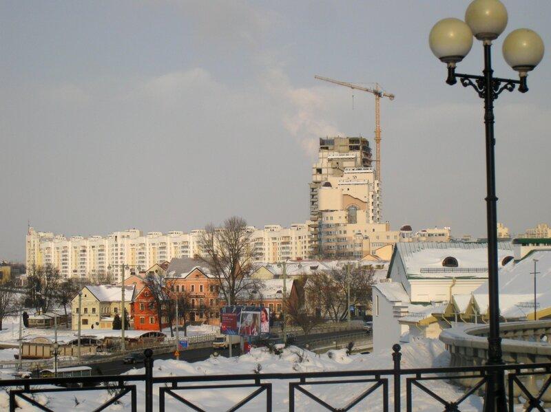 Троицкое предместье и новые кварталы Минска